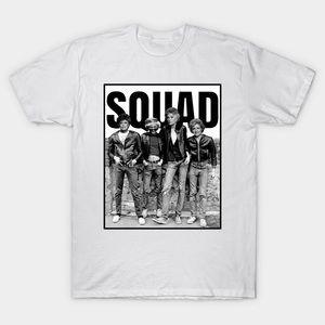 GOLDEN GIRLS • SQUAD women's white & black T-shirt